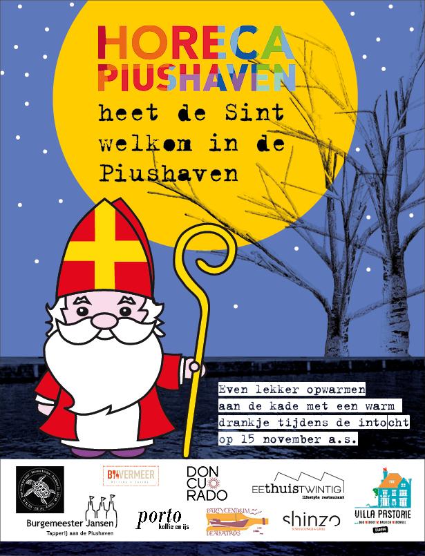 Intocht Sinterklaas Piushaven